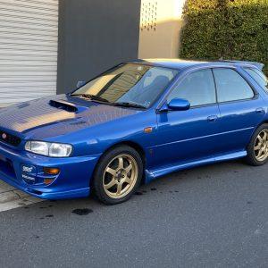 1999 Subaru WRX Sports Wagon STi Limited Version 6 manual transmission